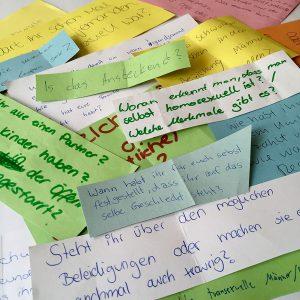 Fragen von Schüler*innen an SCHLAU